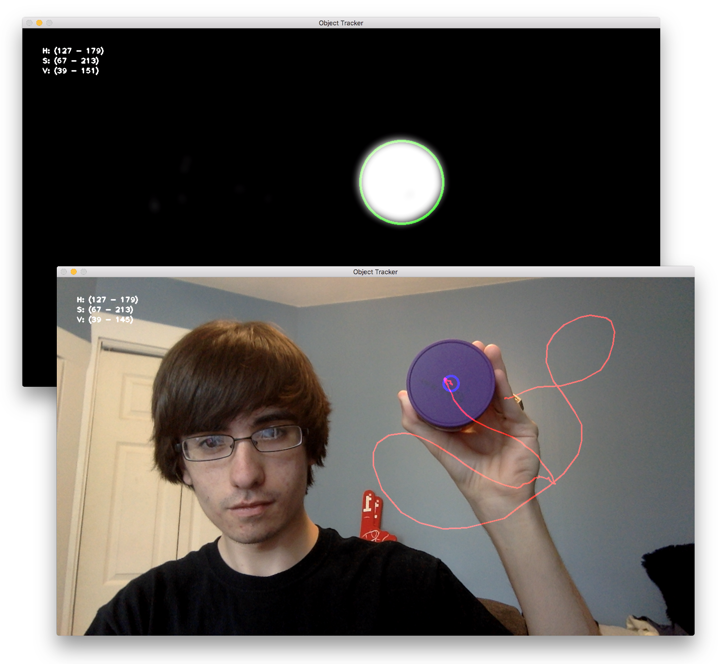 Color-Based Object Detection and Tracking